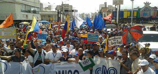 Zulianos protestan contra la censura este sábado |Foto: Twitter