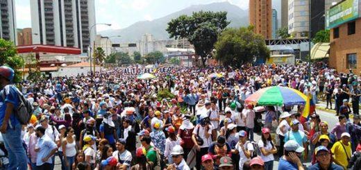 #MarchaDeLosLibertadores| Foto: Efecto Cocuyo