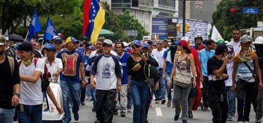 Venezolanos marcharán hasta la Defensoría del Pueblo este lunes   Foto: EFE