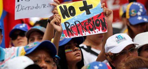 Venezolanos marchan este sábado #20May |Foto: EFE