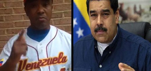 Melvin Mora /Nicolás Maduro |Composición: Notitotal