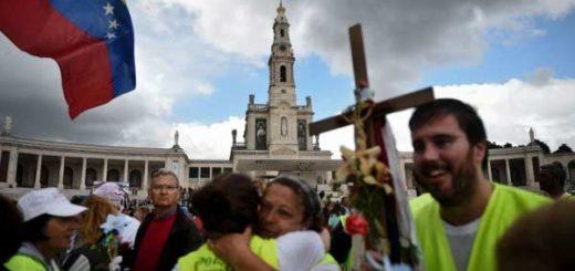 Peregrinos venezolanos pidieron la libertad del país |Foto: NTN24