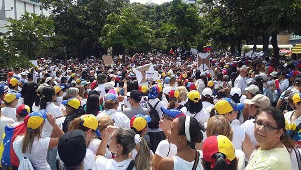 Mujeres venezolanas marcharán contra Nicolás Maduro |Foto: El Nacional