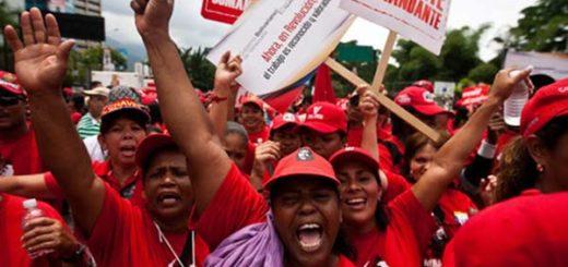 Oficialistas marchan este lunes #7Ago |Foto referencial