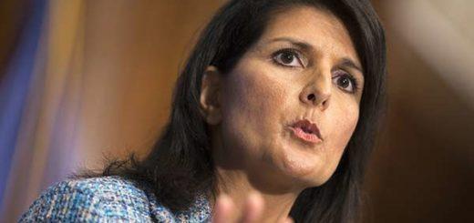 Embajadora de EEUU en la ONU |Nikki Haley