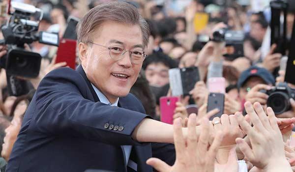 Corea del Sur tiene nuevo presidente: Moon Jae-in
