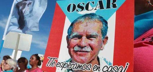 Óscar López, independentista de Puerto Rico  Foto: AFP