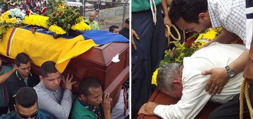 Último adiós a Paúl Moreno, miembro de la Cruz Verde | Composición