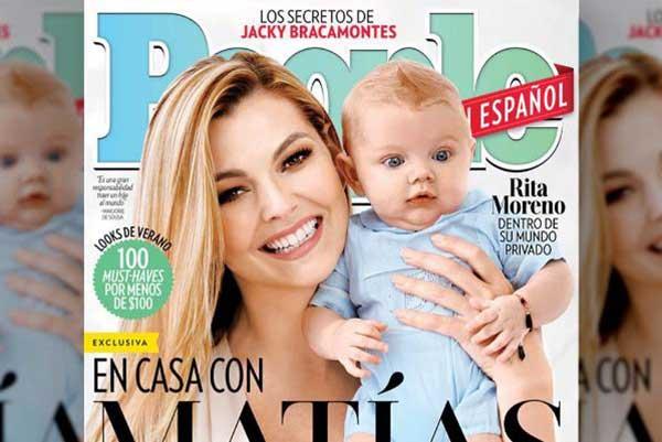 People reveló portada de revista con Marjorie de Sousa junto a su hijo Matías | Imagen: People en Español