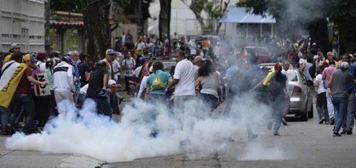 Represión contra opositores este #1Mayo |Foto: AFP