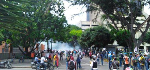 Represión en Bello Monte este #24May |Foto: Efecto Cocuyo