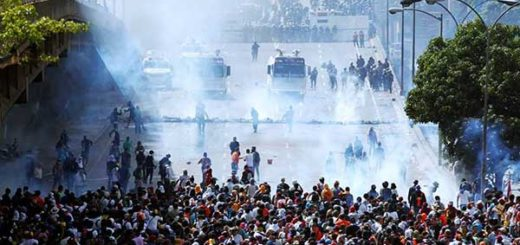 Represión a la movilización opositora de este 29 de mayo en la Fajardo | Foto: Vía Twitter