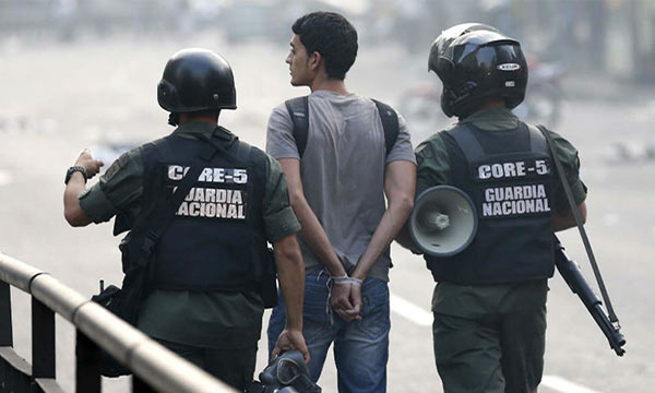 Gobierno venezolano utiliza la jurisdicción militar para encarcelar |Foto referencial