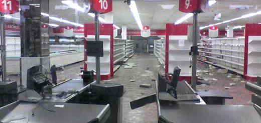 Saqueos en municipios de Carabobo dejaron pérdidas millonarias |Foto: @AndrewsAbreu