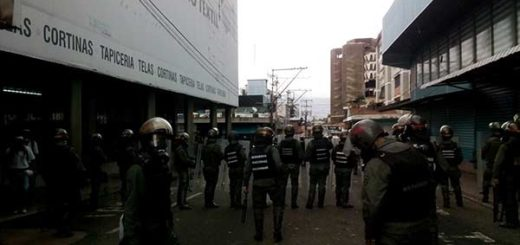 Manifestantes en Táchira  fueron reprimidos este #20May |Foto: @IndignadosVezla