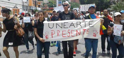 En Unearte es menos grave el plagio que manifestar descontento | Foto: El Nacional