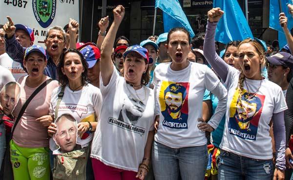 Mujeres venezolanas marcharán este #6May  Foto: Prensa Vente Venezuela