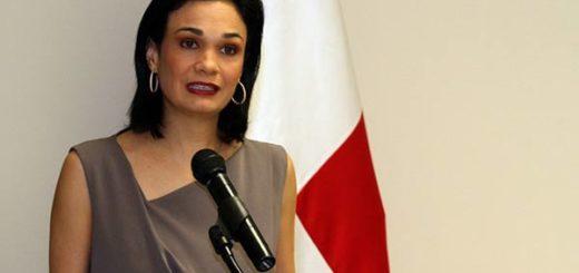 Vicepresidenta de Panamá, Isabel De Saint Malo |Foto cortesía
