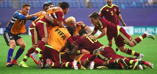 Venezuela logra un pase histórico en el Mundial Sub-20 tras vencer a Japón   Foto: Agencias