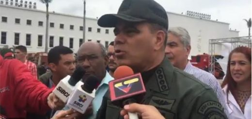 Vladimir Padrino López, Ministro para la Defensa | Foto: Captura de video