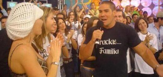 Winston Vallenilla durante cierre de RCTV |Foto cortesía