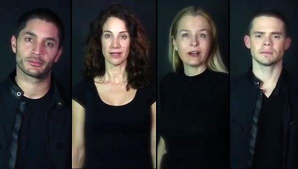 Artistas venezolanos en el exterior piden cambio en Venezuela