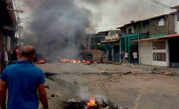 GNB detuvo a 107 personas tras hechos irregulares en Barinas   Foto: Twitter