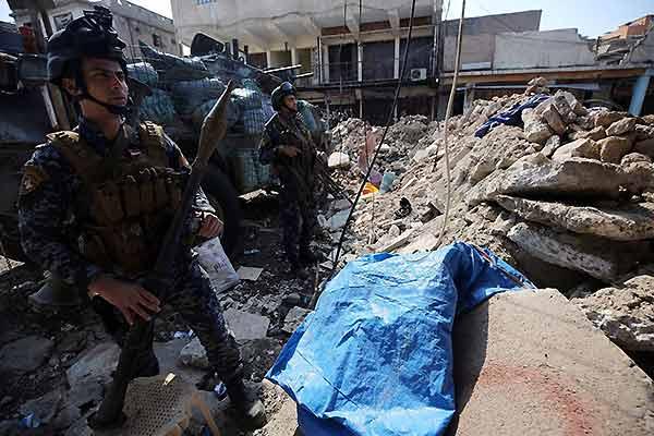 Bombardeo a Mosul | Foto: AHMAD AL-RUBAYE AFP