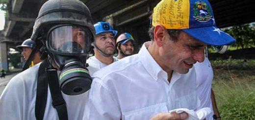 Henrique Capriles, gobernador del estado Miranda   Foto: Vía Twitter