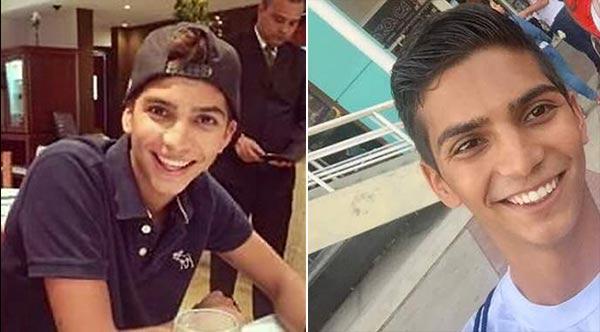 César Pereira, joven herido con metras | Notitotal