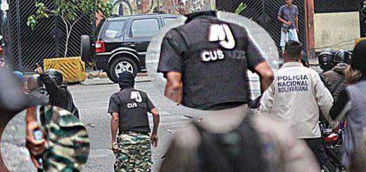 Miembro de colectivo portaba chaleco antibalas del MIJ | Fotos: El Nacional