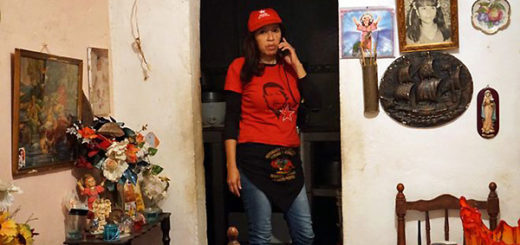 "Chavistas convencidos asisten a las marcha por ""amor a la revolución"" | BBC Mundo"