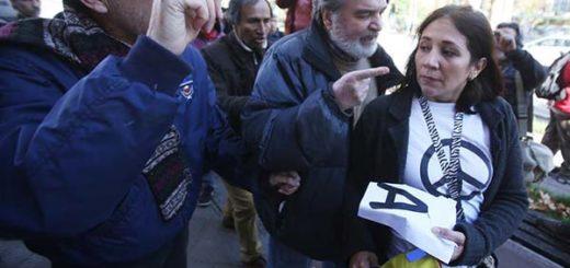 Protesta de venezolanos en Chile | Foto: EFE