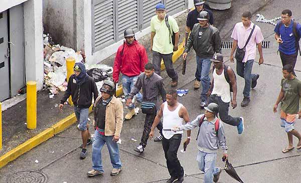 Grupos paramilitares | Foto: Twitter