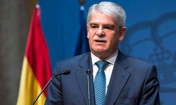 Alfonso Dastis, ministro de Asuntos Exteriores | Foto: EFE