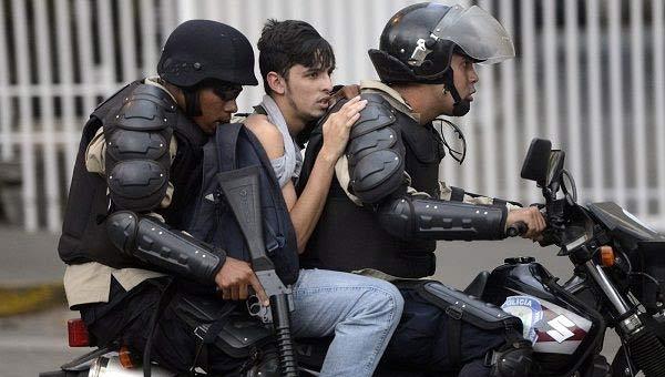 Detenidos durante protestas | Foto referencial