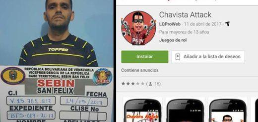 Detenido sujeto por diseñar juego 'Chavista Attack' | Notitotal