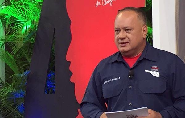 Diosdado Cabello   Foto: @ConElMazoDando