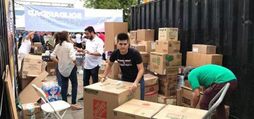 Venezolanos en Miami envían insumos de primeros auxilios al país | Foto: La Patilla