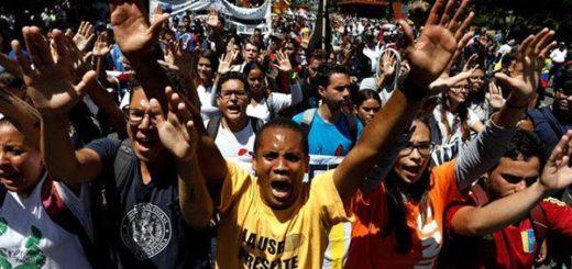 Sociedad civil junto  a los estudiantes marcha hoy hasta Conatel |Foto Reuters