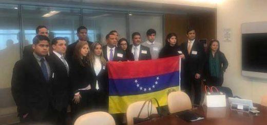 Estudiantes Venezolanos en el Exterior se reunieron con Alto Comisionado de DDHH de la ONU | Foto: NP
