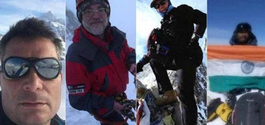 Hallan cuerpos de alpinistas en el Everest