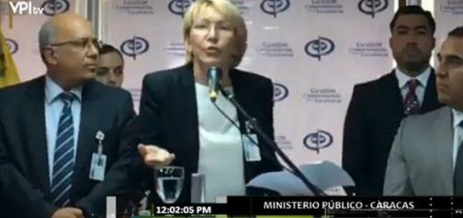 Fiscal General, Luisa Ortega Díaz | Foto: Captura de video