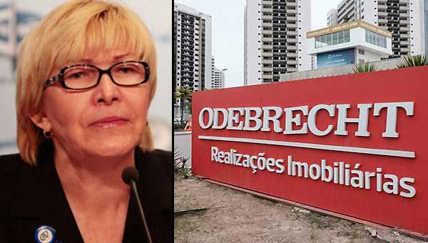 Fiscalía de Brasil entregará a Ortega Díaz pruebas en caso de Odebrecht