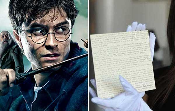 Roban manuscrito de una precuela de 'Harry Potter' | Composición