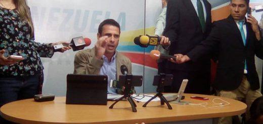 Henrique Capriles Radonski, Gobernador del estado Miranda | Foto: Captura