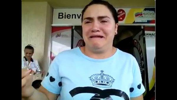 Hermana de la víctima | Foto: Captura de video
