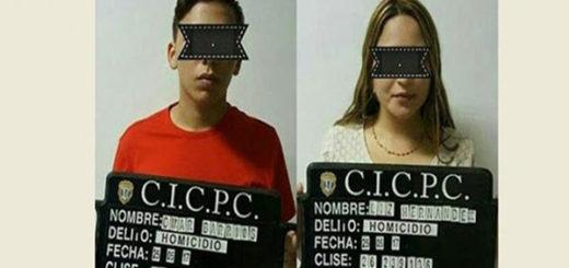 Homicidas del joven Paúl Moreno | Foto: Panorama