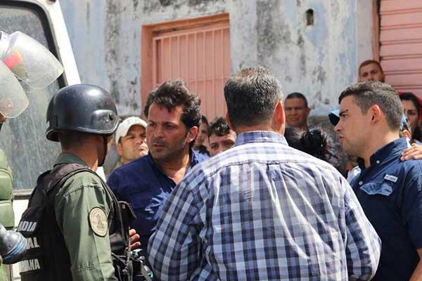 GNB intentó detener a Morel David Rodríguez | Foto: Twitter