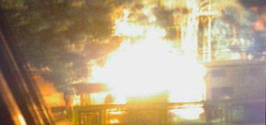 Incendio de Inces en La Isabelita, Valencia | Foto: Twitter